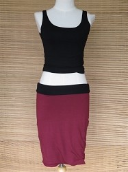 Reversible Pencil Skirt